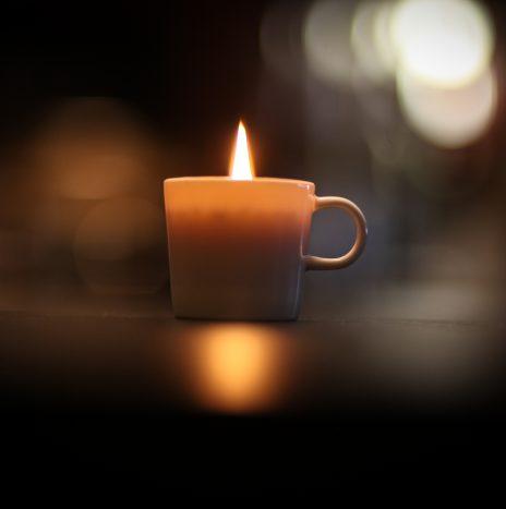 Espresso Cup Candle